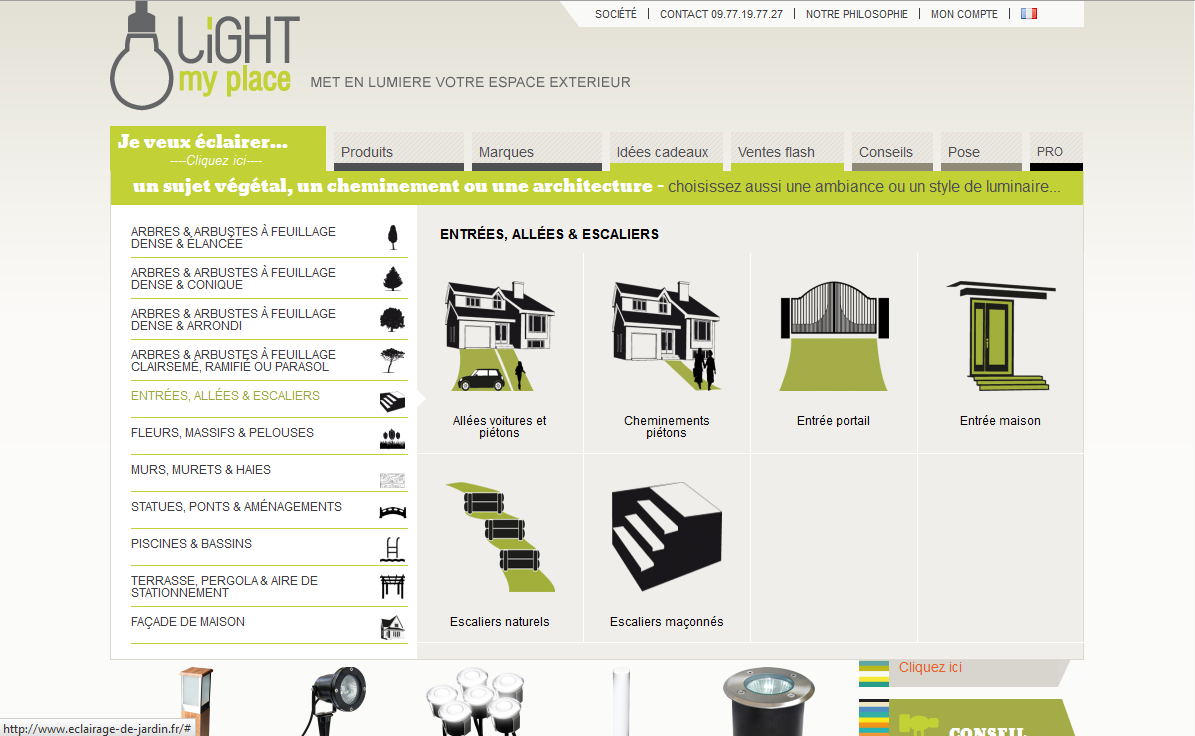 nouveau site light my place light zoom lumi re portail de la lumi re et de l 39 clairage. Black Bedroom Furniture Sets. Home Design Ideas