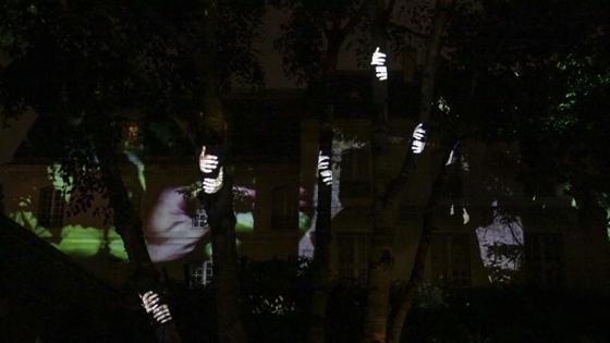 Monstre - Olivier Crouzel - Nuit Blanche 2013, Paris