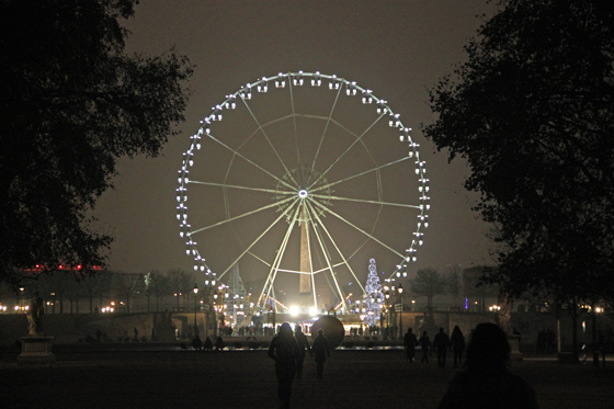 Grande-roue-de-la-place-de la Concorde, Paris - Photo Vincent Laganier
