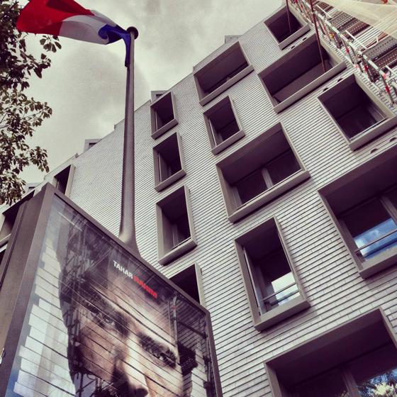 Façade Est, logements sociaux, Paris, France - Fresh architectes