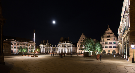 Place-du-chateau,-Strasbourg--Conception-lumiere-et-Photo1-Acte-Lumiere