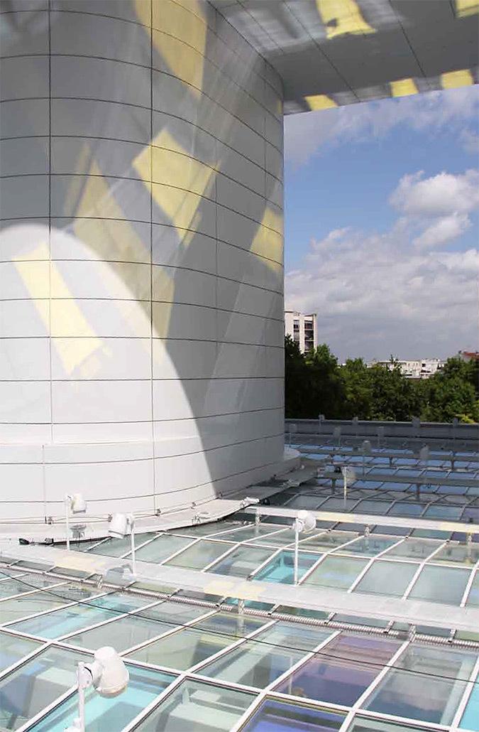 Repenser l image diurne et nocturne du hall d accueil for Architectes de france