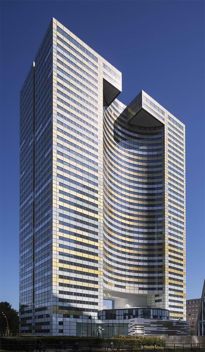 Tour Eqho, Paris-La Défense, France - Hubert & Roy architectes et associés - Concepto, Roger Narboni © Fernando Javier Urquijo photographe