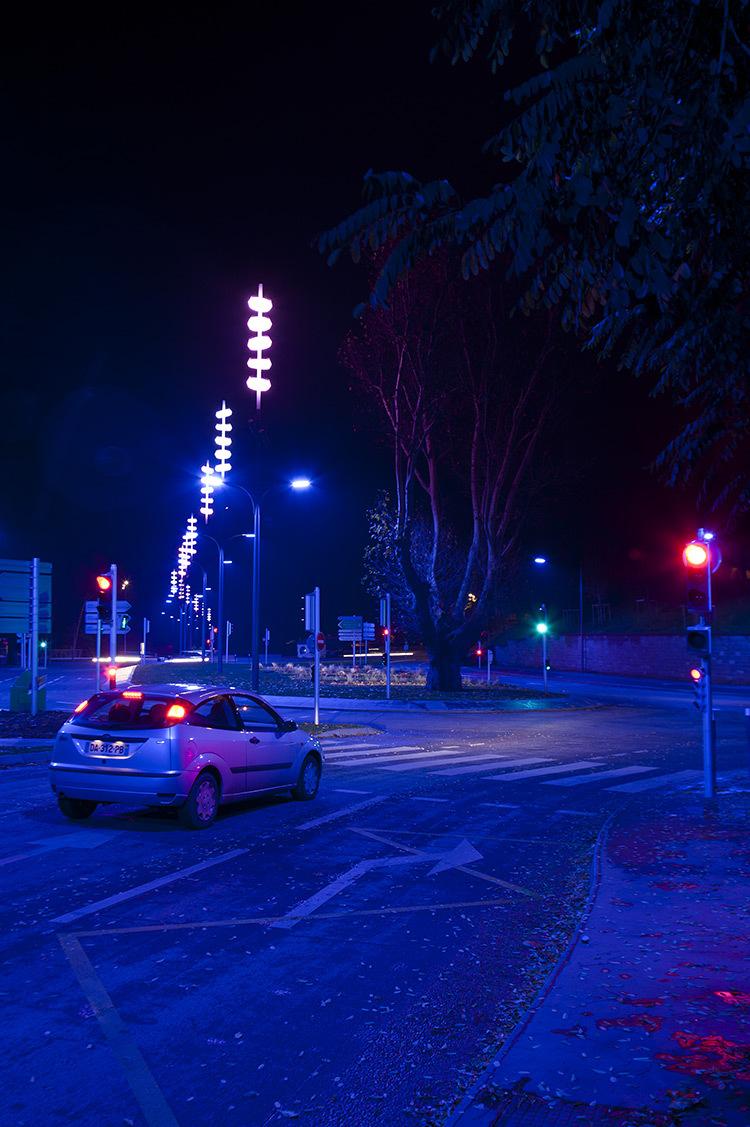 Onde chromatique, boulevard de la Seille, Metz 6 © L'Atelier Lumière
