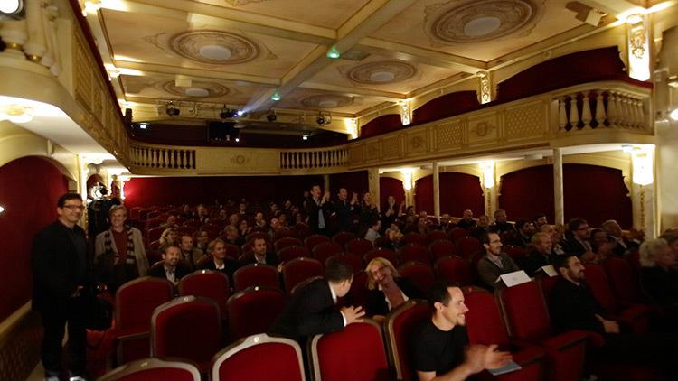 Theatre 100 noms, Nantes, France - Ceremonie de remise des Prix de ACEtylene 2014, Nantes - Photo Marc Linnhoff