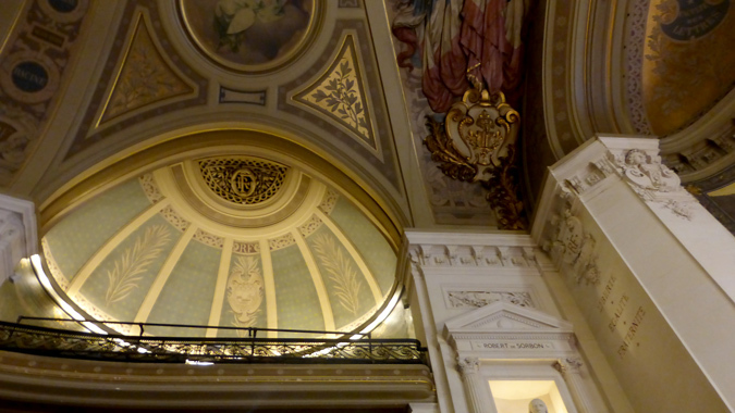 Année de la Lumière en France 2015 - Cérémonie de lancement - Architecture - Grand Amphithéâtre de la Sorbonne, Paris - Photo : Vincent Laganier