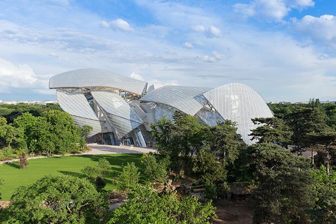 Fondation Louis Vuitton, Paris, France - Architecte : Frank Gehry - Photo : Iwan Baan, 2014