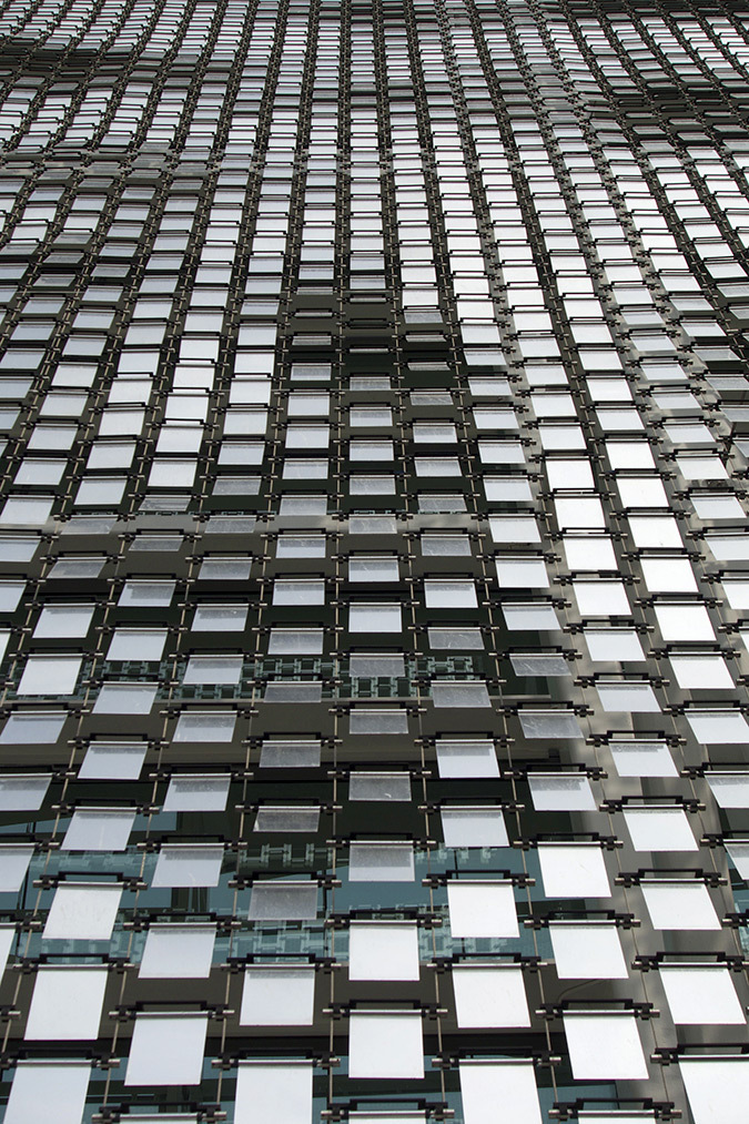 Détail de façade, hôtel Marina Bay Sands, Singapore - Photo : Virginie Nicolas
